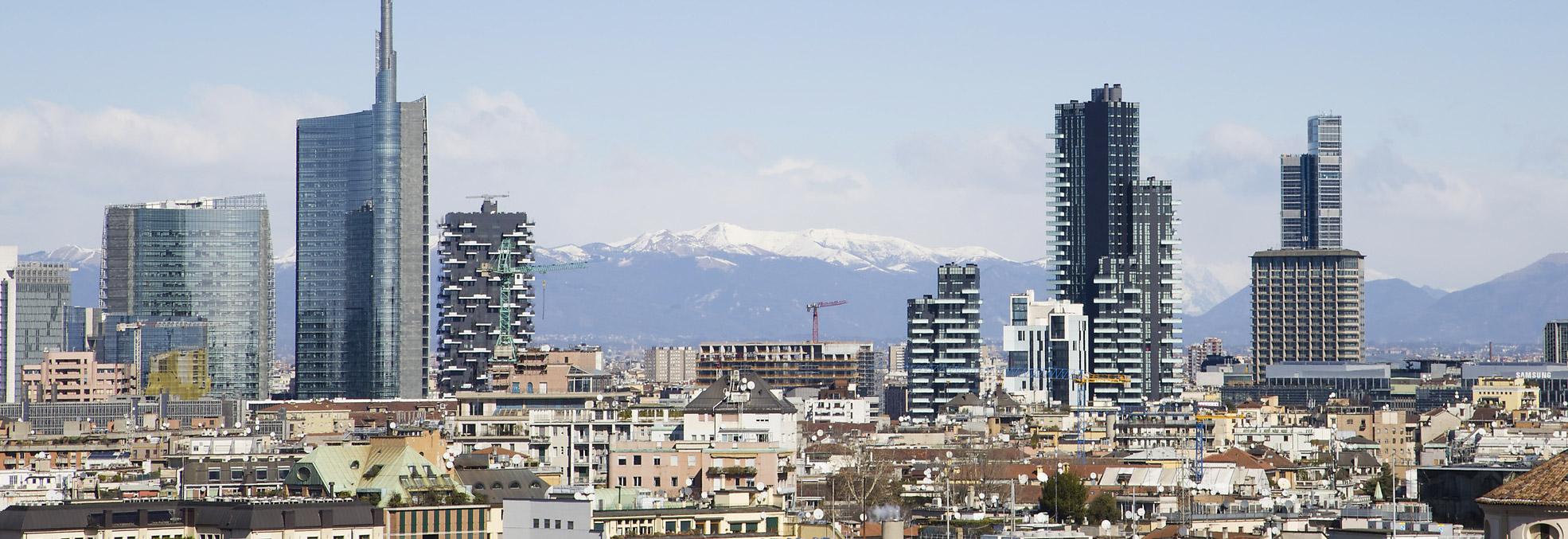 Panoramica di Milano - Spazio33 Consulting