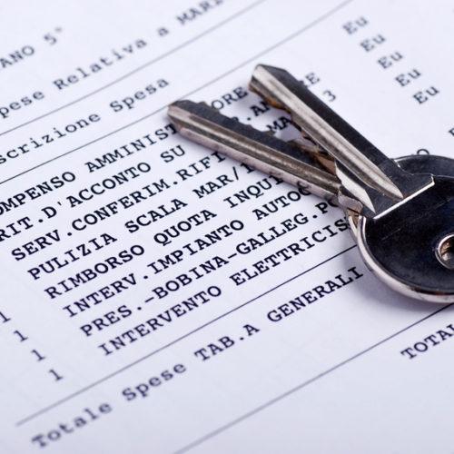 ripartizione spese condominiali con chiavi